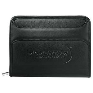 Burke Jr. Zippered Padfolio