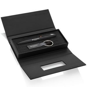 Banos Pen/Keyring Gift Set - Red