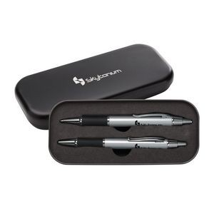 Sundance Ballpoint/Pencil Set - Silver